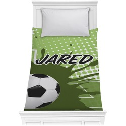 Soccer Comforter - Twin (Personalized)