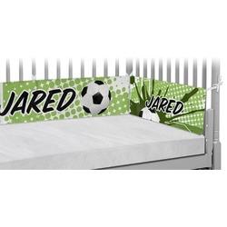 Soccer Crib Bumper Pads (Personalized)