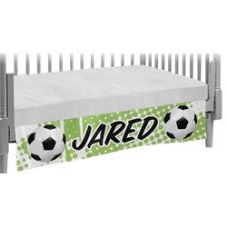 Soccer Crib Skirt (Personalized)