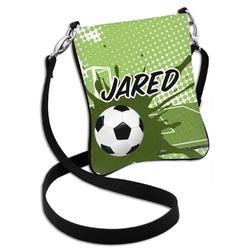 Soccer Cross Body Bag - 2 Sizes (Personalized)