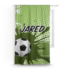 Soccer Curtain (Personalized)