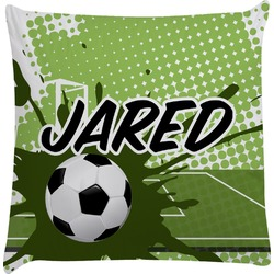 Soccer Decorative Pillow Case (Personalized)