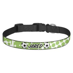 Soccer Dog Collar - Multiple Sizes (Personalized)