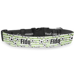 Soccer Deluxe Dog Collar (Personalized)