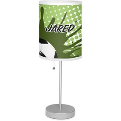 """Soccer 7"""" Drum Lamp with Shade (Personalized)"""