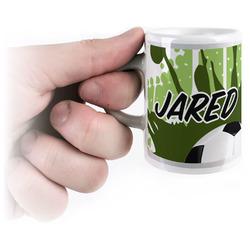 Soccer Espresso Mug - 3 oz (Personalized)
