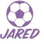Soccer Glitter Sticker Decal - Custom Sized (Personalized)