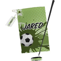 Soccer Golf Towel Gift Set (Personalized)