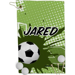 Soccer Golf Towel - Full Print (Personalized)
