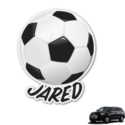 Soccer Graphic Car Decal (Personalized)