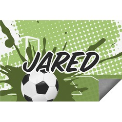 Soccer Indoor / Outdoor Rug (Personalized)