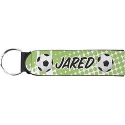 Soccer Neoprene Keychain Fob (Personalized)