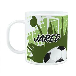 Soccer Plastic Kids Mug (Personalized)