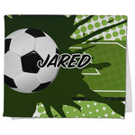 Soccer Kitchen Towel - Full Print (Personalized)
