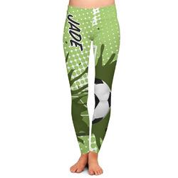 Soccer Ladies Leggings (Personalized)