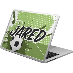 Soccer Laptop Skin - Custom Sized (Personalized)