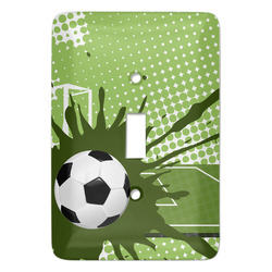 Soccer Light Switch Covers - Multiple Toggle Options Available (Personalized)