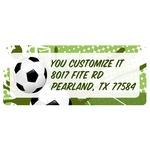 Soccer Return Address Labels (Personalized)
