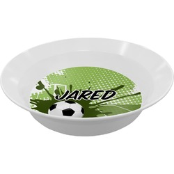 Soccer Melamine Bowl - 12 oz (Personalized)