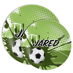 Soccer Melamine Plate (Personalized)