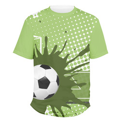 Soccer Men's Crew T-Shirt (Personalized)