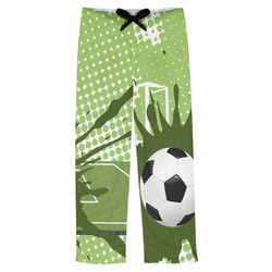 Soccer Mens Pajama Pants (Personalized)