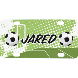 Soccer Mini / Bicycle License Plate (Personalized)