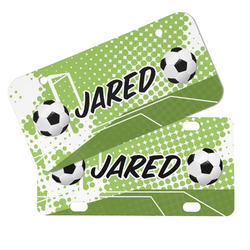 Soccer Mini/Bicycle License Plates (Personalized)
