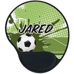 Soccer Mouse Pad with Wrist Support