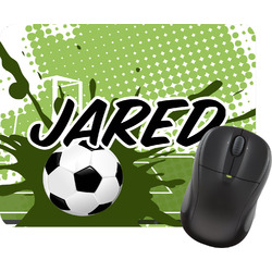 Soccer Rectangular Mouse Pad (Personalized)