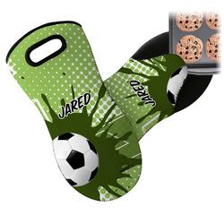 Soccer Neoprene Oven Mitt (Personalized)