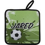 Soccer Pot Holder w/ Name or Text