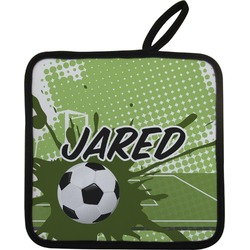 Soccer Pot Holder (Personalized)