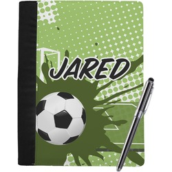 Soccer Notebook Padfolio (Personalized)