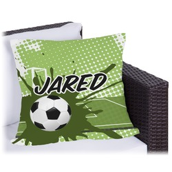 Soccer Outdoor Pillow (Personalized)