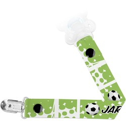 Soccer Pacifier Clips (Personalized)
