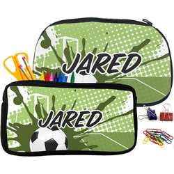 Soccer Pencil / School Supplies Bag (Personalized)