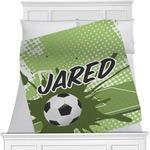 Soccer Minky Blanket (Personalized)
