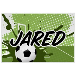 Soccer Placemat (Laminated) (Personalized)