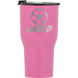 Soccer RTIC Tumbler - Pink (Personalized)