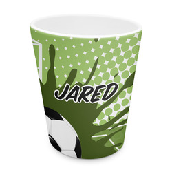 Soccer Plastic Tumbler 6oz (Personalized)
