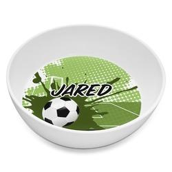 Soccer Melamine Bowl 8oz (Personalized)