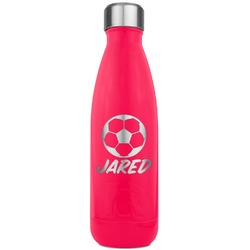 Soccer RTIC Bottle - 17 oz. Pink (Personalized)