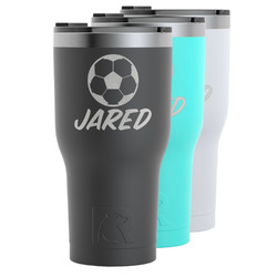 Soccer RTIC Tumbler - 30 oz (Personalized)