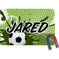 Soccer Rectangular Fridge Magnet (Personalized)