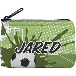 Soccer Rectangular Coin Purse (Personalized)