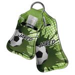 Soccer Hand Sanitizer & Keychain Holder (Personalized)