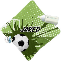 Soccer Security Blanket (Personalized)