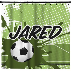Soccer Shower Curtain (Personalized)