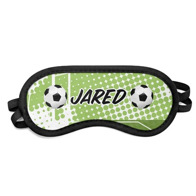 Soccer Sleeping Eye Mask - Small (Personalized)